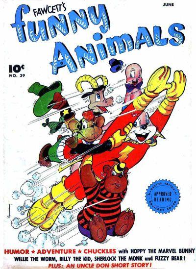 Cover for Fawcett's Funny Animals (Fawcett, 1942 series) #39