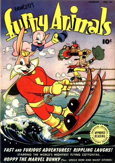 Cover for Fawcett's Funny Animals (Fawcett, 1942 series) #41