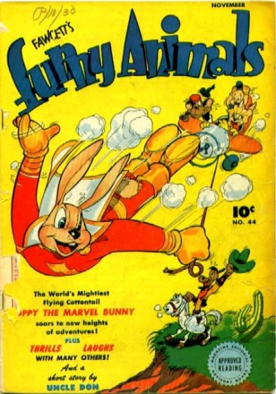Cover for Fawcett's Funny Animals (Fawcett, 1942 series) #44
