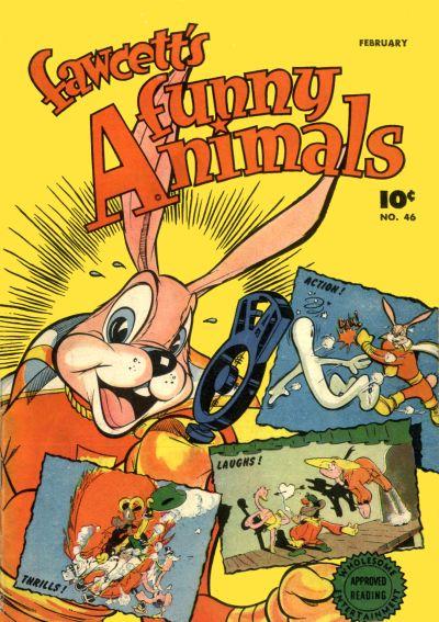 Cover for Fawcett's Funny Animals (Fawcett, 1942 series) #46
