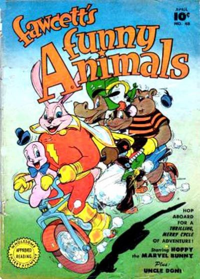 Cover for Fawcett's Funny Animals (Fawcett, 1942 series) #48