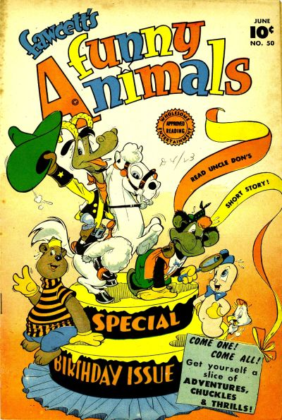 Cover for Fawcett's Funny Animals (Fawcett, 1942 series) #50
