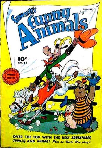 Cover for Fawcett's Funny Animals (Fawcett, 1942 series) #52