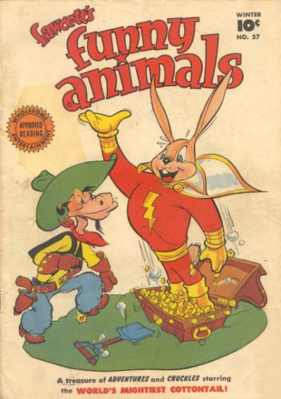 Cover for Fawcett's Funny Animals (Fawcett, 1942 series) #57