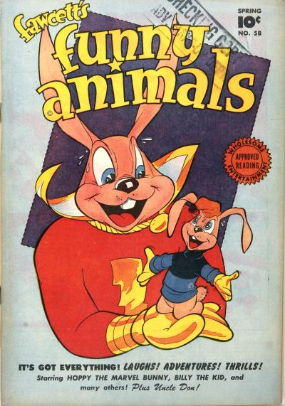 Cover for Fawcett's Funny Animals (Fawcett, 1942 series) #58