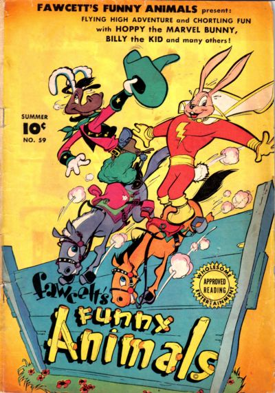 Cover for Fawcett's Funny Animals (Fawcett, 1942 series) #59