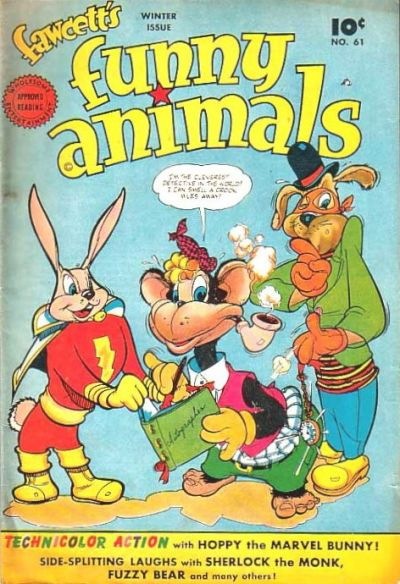 Cover for Fawcett's Funny Animals (Fawcett, 1942 series) #61
