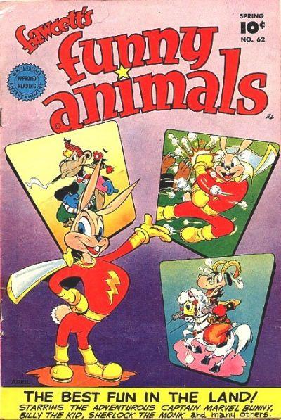 Cover for Fawcett's Funny Animals (Fawcett, 1942 series) #62