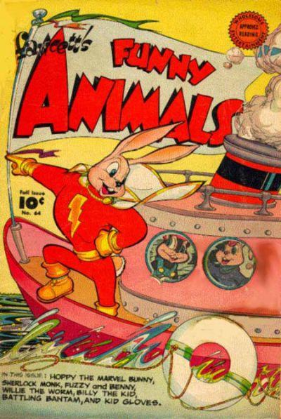Cover for Fawcett's Funny Animals (Fawcett, 1942 series) #64