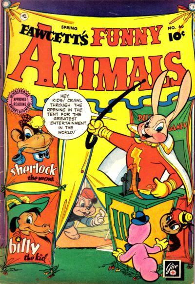 Cover for Fawcett's Funny Animals (Fawcett, 1942 series) #66