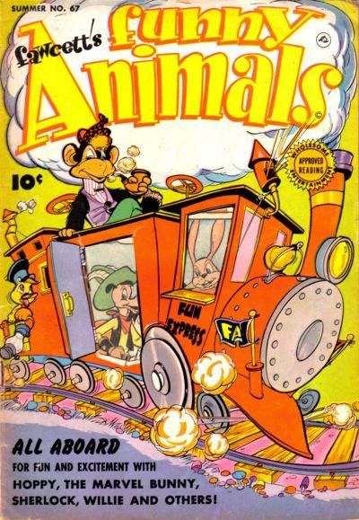 Cover for Fawcett's Funny Animals (Fawcett, 1942 series) #67