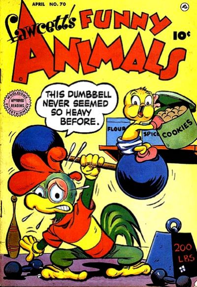 Cover for Fawcett's Funny Animals (Fawcett, 1942 series) #70