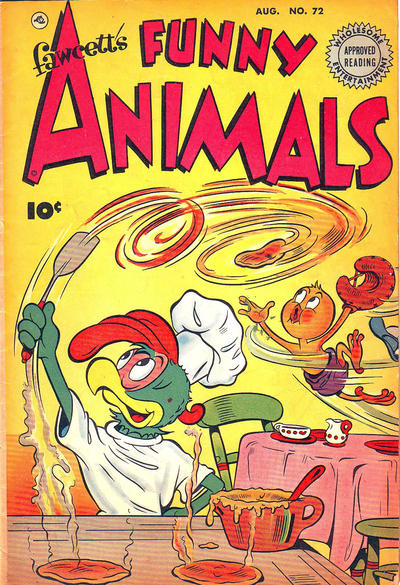 Cover for Fawcett's Funny Animals (Fawcett, 1942 series) #72