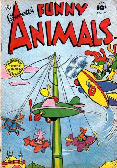 Cover for Fawcett's Funny Animals (Fawcett, 1942 series) #74