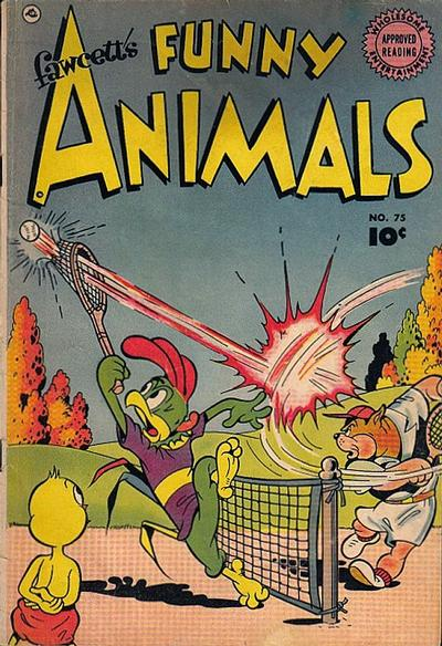 Cover for Fawcett's Funny Animals (Fawcett, 1942 series) #75