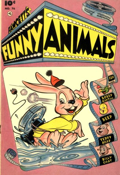 Cover for Fawcett's Funny Animals (Fawcett, 1942 series) #76
