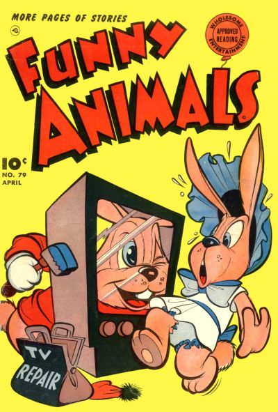 Cover for Fawcett's Funny Animals (Fawcett, 1942 series) #79