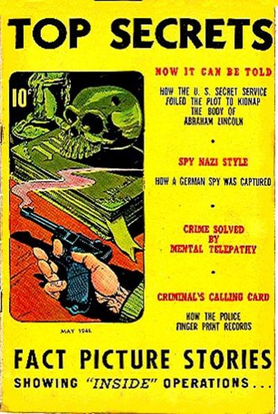 Cover for Top Secrets (Street and Smith, 1947 series) #v1#3