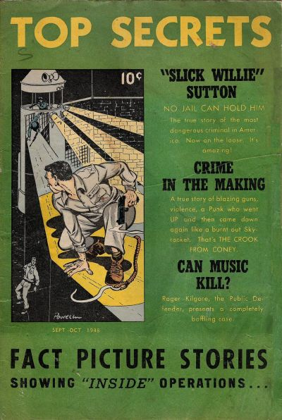 Cover for Top Secrets (Street and Smith, 1947 series) #v1#5