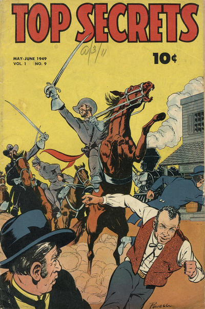 Cover for Top Secrets (Street and Smith, 1947 series) #v1#9