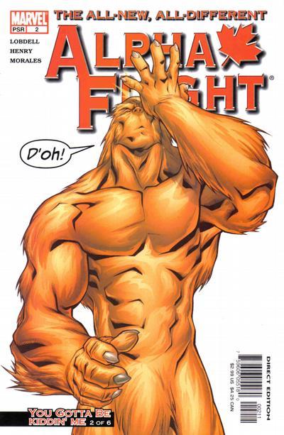 Cover for Alpha Flight (Marvel, 2004 series) #2