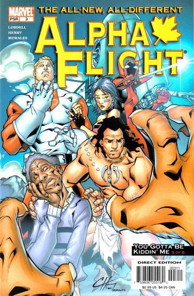 Cover for Alpha Flight (Marvel, 2004 series) #3