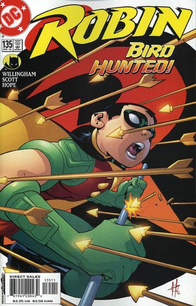 Cover for Robin (DC, 1993 series) #135