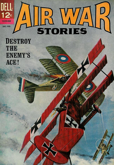 Cover for Air War Stories (Dell, 1964 series) #2