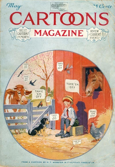 Cover for Cartoons Magazine (H. H. Windsor, 1913 series) #v15#5 [89]