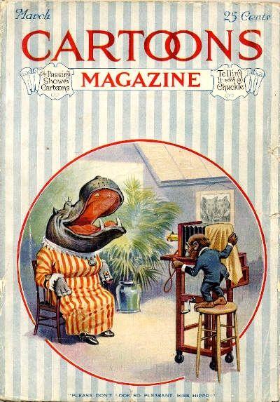 Cover for Cartoons Magazine (H. H. Windsor, 1913 series) #v17#3 [99]