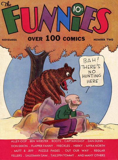 Cover for The Funnies (Dell, 1936 series) #2