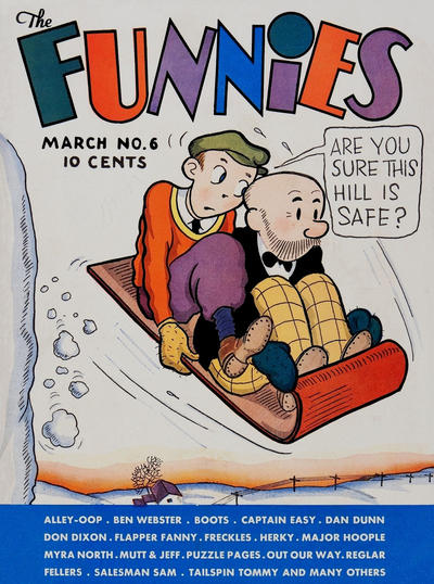 Cover for The Funnies (Dell, 1936 series) #6