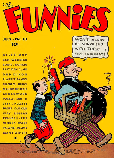 Cover for The Funnies (Dell, 1936 series) #10