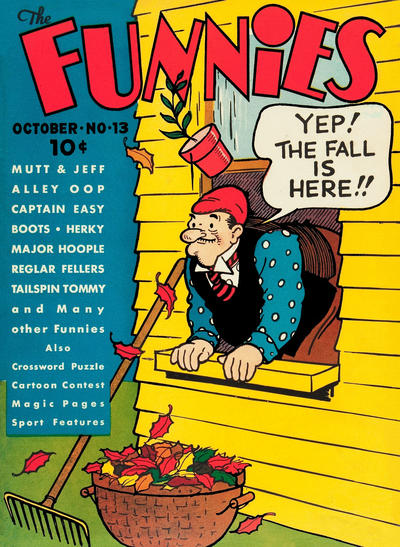 Cover for The Funnies (Dell, 1936 series) #13