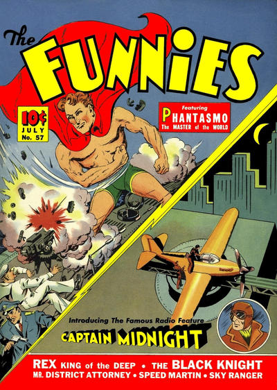 Cover for The Funnies (Dell, 1936 series) #57