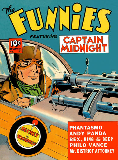 Cover for The Funnies (Dell, 1936 series) #62