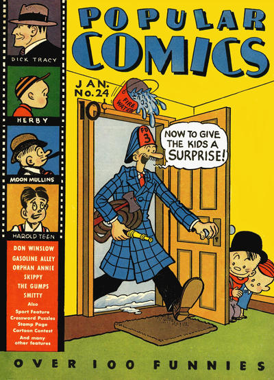 Cover for Popular Comics (Dell, 1936 series) #24