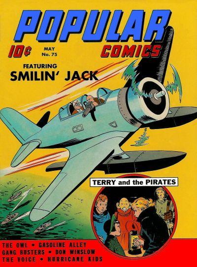Cover for Popular Comics (Dell, 1936 series) #75