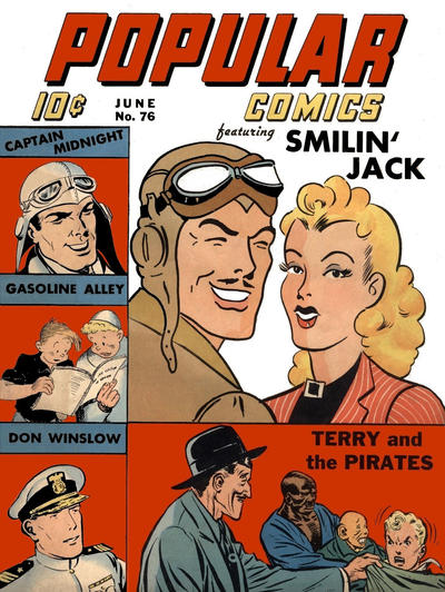 Cover for Popular Comics (Dell, 1936 series) #76