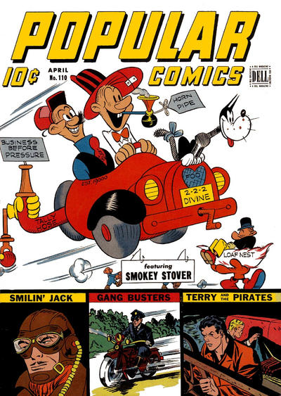 Cover for Popular Comics (Dell, 1936 series) #110