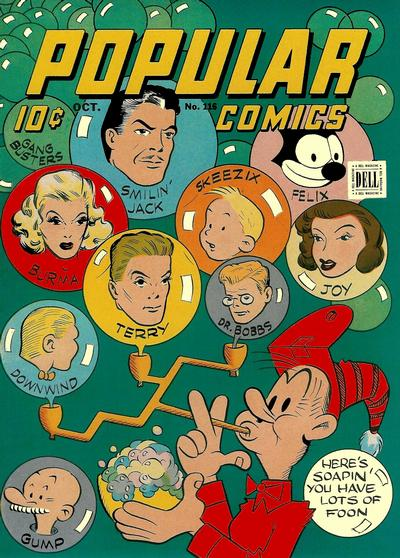 Cover for Popular Comics (Dell, 1936 series) #116
