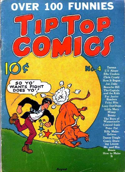 Cover for Tip Top Comics (United Feature, 1936 series) #4