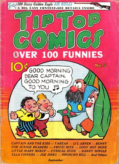 Cover for Tip Top Comics (United Features, 1936 series) #5