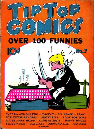 Cover for Tip Top Comics (United Features, 1936 series) #7