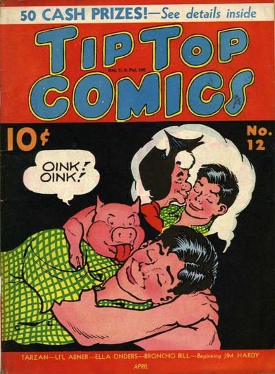 Cover for Tip Top Comics (United Features, 1936 series) #12