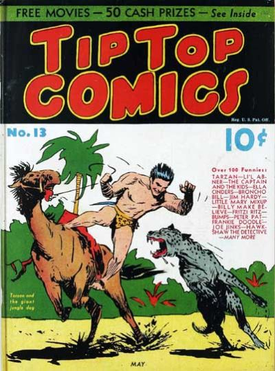 Cover for Tip Top Comics (United Feature, 1936 series) #13
