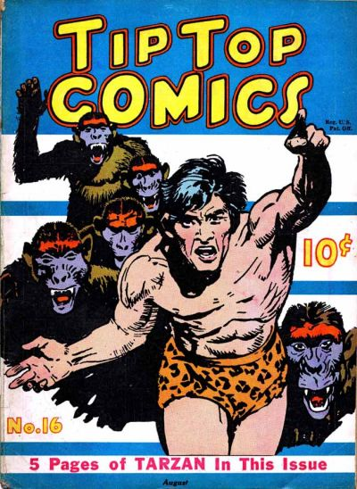 Cover for Tip Top Comics (United Features, 1936 series) #16