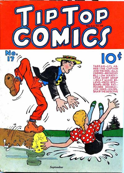 Cover for Tip Top Comics (United Features, 1936 series) #17