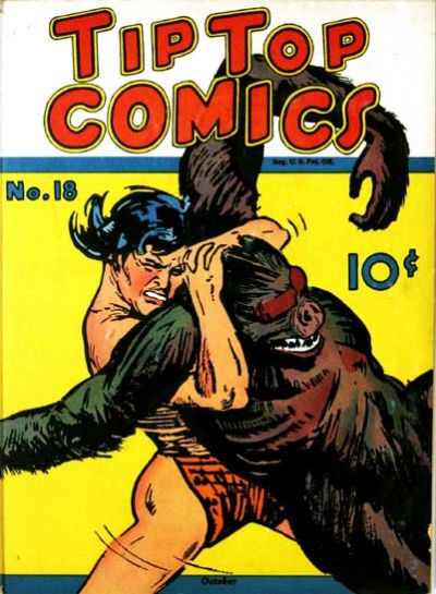 Cover for Tip Top Comics (United Features, 1936 series) #18