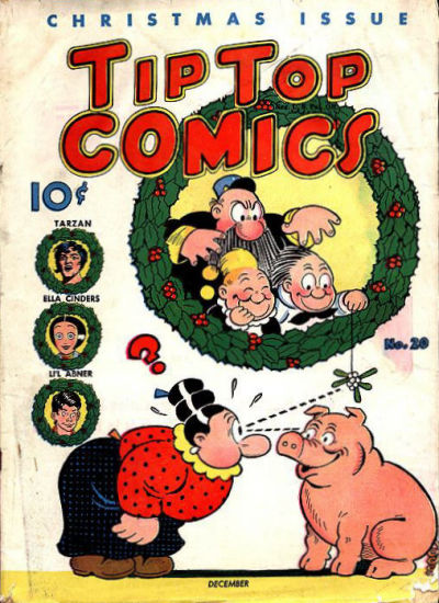 Cover for Tip Top Comics (United Feature, 1936 series) #v2#8 (20)